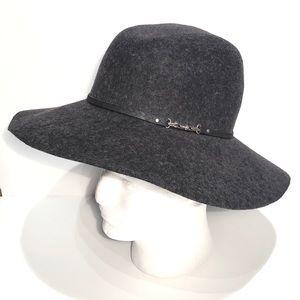 Calvin Klein Wool Hat Floppy Wide Brim Boho